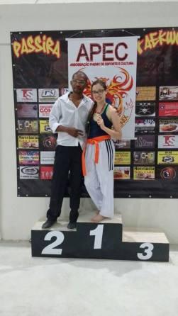 Mestre João Batista, meu técnico;