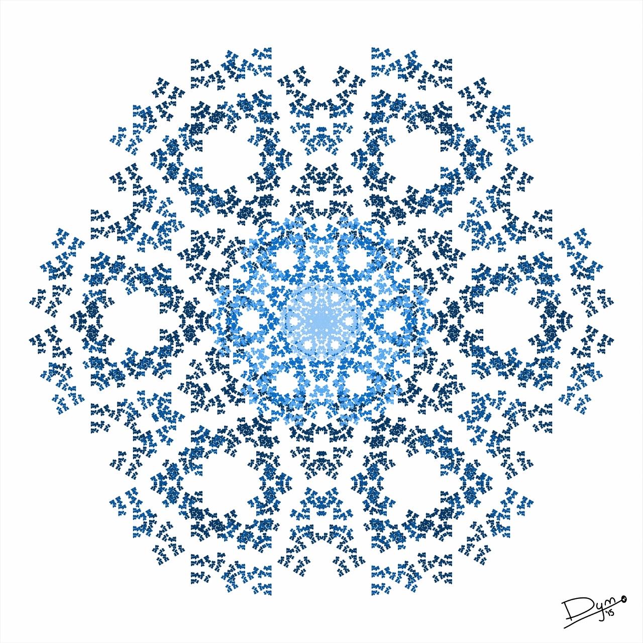 Some Point Fractals Generated In M Cel Devan Matthews