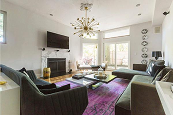 modern living room interior design Eastchester Home