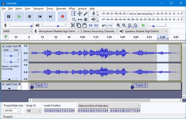 Audacity example 620x397 - Топ бесплатных аналогов популярных и дорогих программ