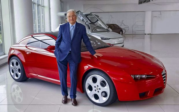 GIORGETTO GIUGIARO 620x388 - Когда автомобильные гении уходят на пенсию — Джорджетто Джуджаро