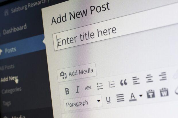 wordpress editor example 620x413 - Несколько советов по ускорению загрузки сайта на WordPress