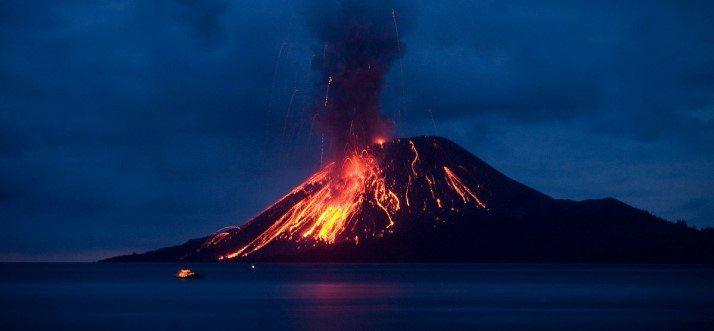 Krakatoa Eruption 1333   Devastating Disasters