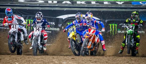 supercross action start photography