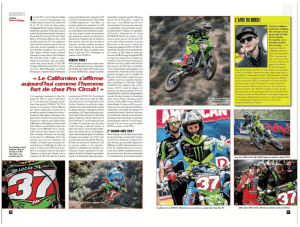 Joey Savatgy - MX Magazine