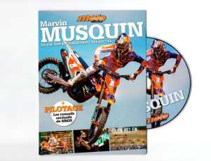 DVD Supercross Marvin Musquin