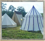 SCA - Traditional Medieval Tenting