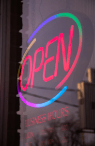 working day opening hours