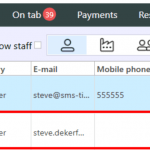 member lookup by email