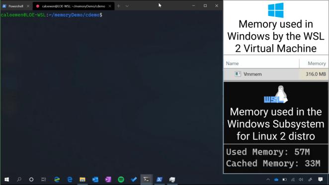 Informações sobre WSL e Terminal