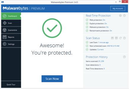 Malwarebytes Crack v4.4.7 With Premium Key Full [Latest 2021]