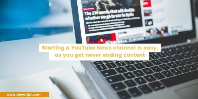 youtube news channel