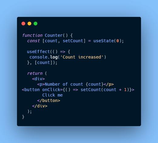 componentDidUpdate using useeffect