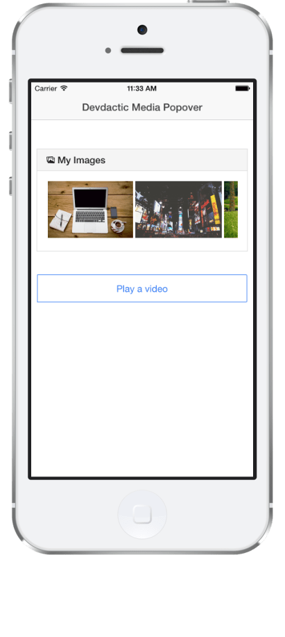 How To Display Images and Videos with Ionic