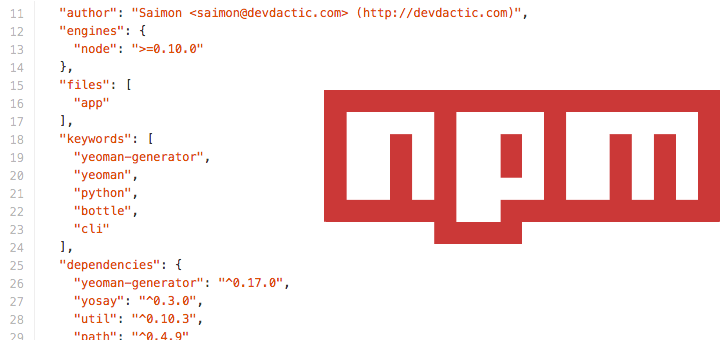 How to publish packages to NPM