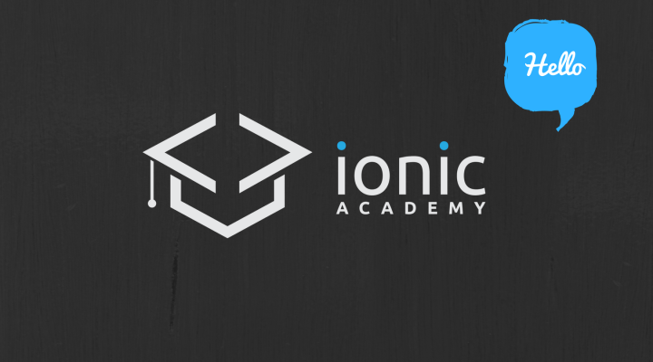 The Beginning of the Ionic Academy