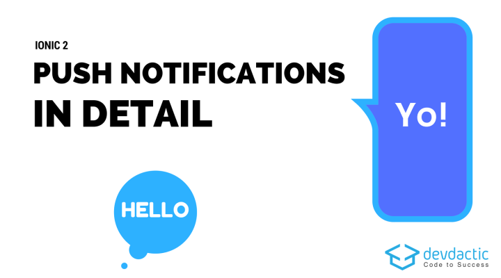 Ionic 2 Push Notifications In Detail