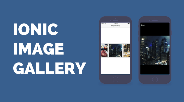 Building an Ionic Image Gallery With Zoom
