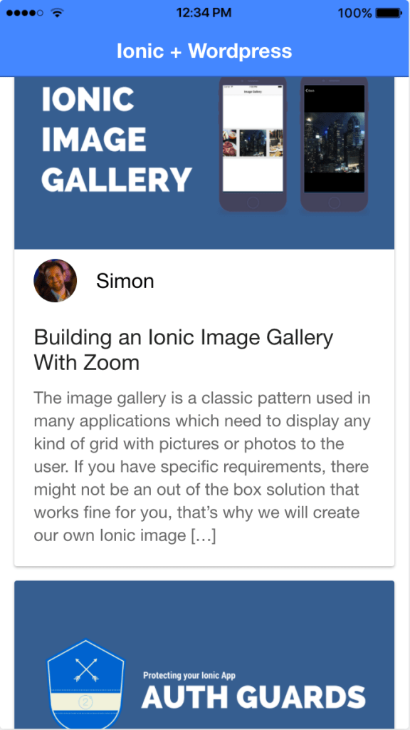 ionic-wordpress-list