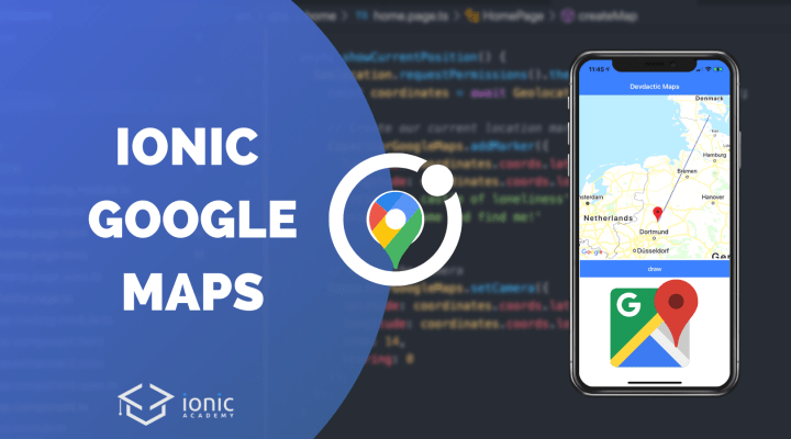 How to use Native Google Maps with Capacitor and Ionic