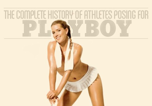 Cheers to these 10 stunning female athletes who have posed for playboy