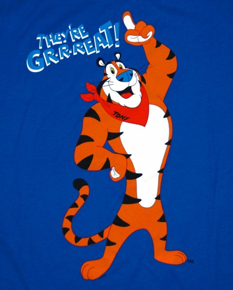 Boy, are you the tiger from the Frosted Flakes box? Cause you look great!