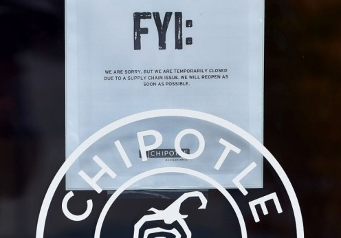 Chipotle shutting down more than 43 outlets due to E. coli and other scams