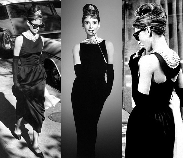 Hepburn's Breakfast at Tiffany's Givenchy Dress