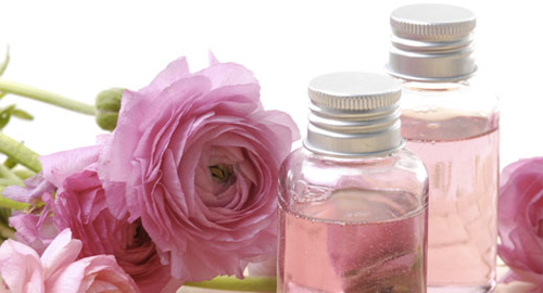 Make up spray with rose water