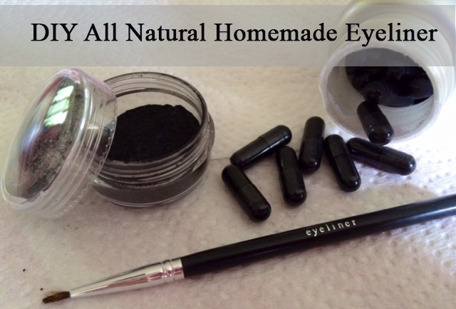 Making your eyeliner at home