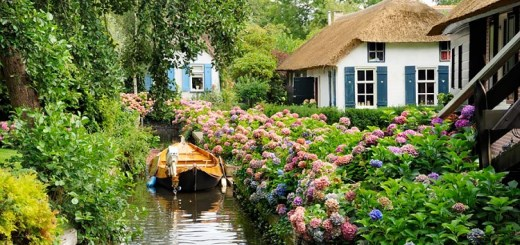 A fairy tale village without roads. See it to believe it!