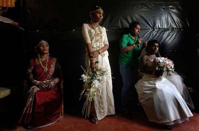 Wedding dress Sri Lanka