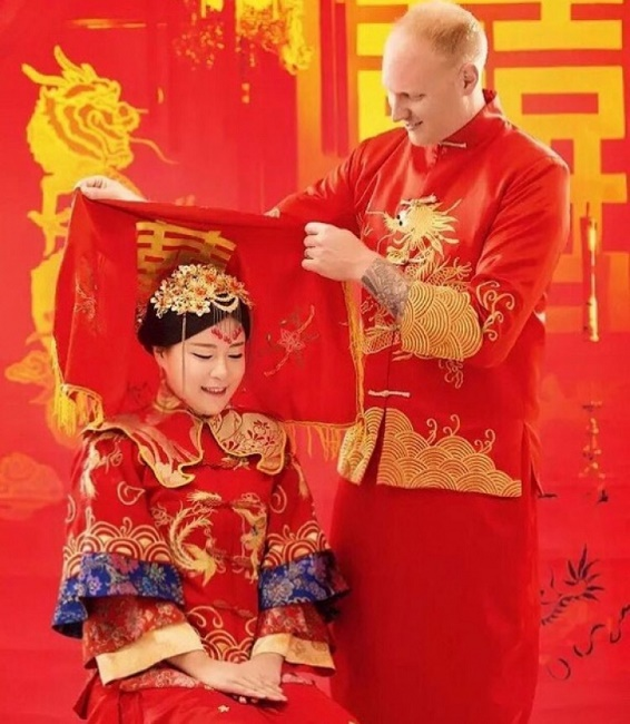 wedding dress in China