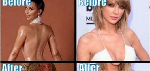8 Brilliant images showing how celebs will look like with tattoos