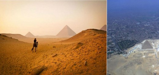 8 Photos of famous landmarks that show difference of perspective with modern times