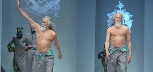 80 Year old Chinese model with a perfect body proves it isn't too late to pursue your dreams