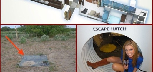 An Incredible Underground Survival Shelter that Lasts 200 Years and Has All the Features of a Luxury Home.