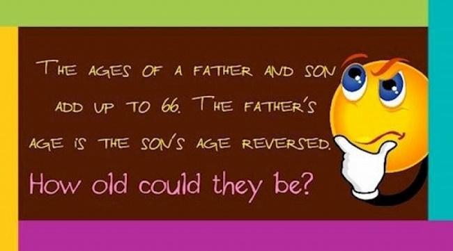 father son age