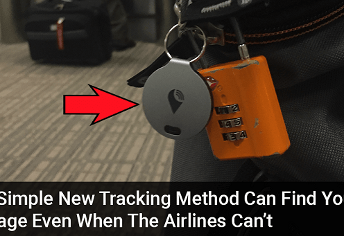 An amazing new device shows you how to track your baggage lost at airports