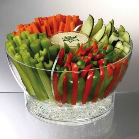 Ice Chilled Food Bowl
