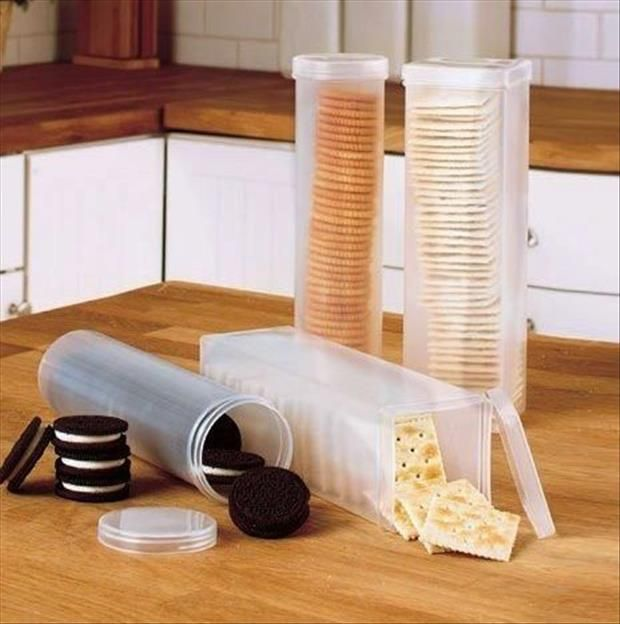 Vertical Biscuit Containers