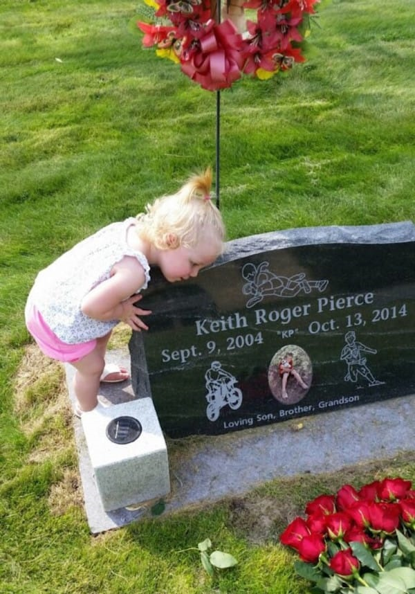 keith rogers's grave