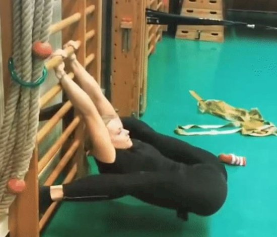 Amazing flexibility