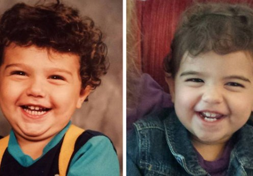 Check out these 15 stunning photos of parent-kid at the same age