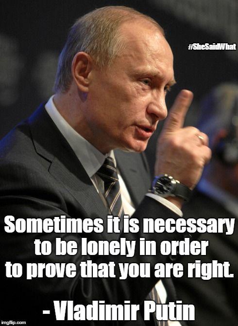 Vladimir Putin qutoes