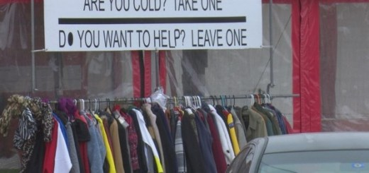 This Taco Shop owner hangs coats outside her shop every winter and the reason is awesome