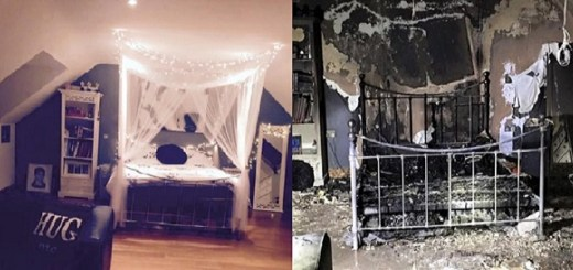 This teen Girl's Room caught fire burning half her House down all because of this common mistake