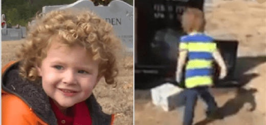 The 2 year old boy from Alabama who received a Christmas gift from his dad in heaven