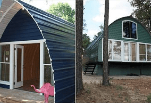 These awesome arched houses are just what you need for your vacations
