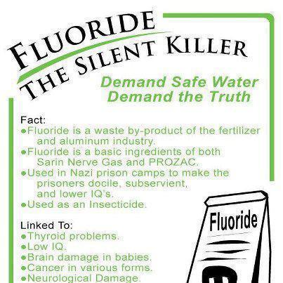 poisonous effects of flouride